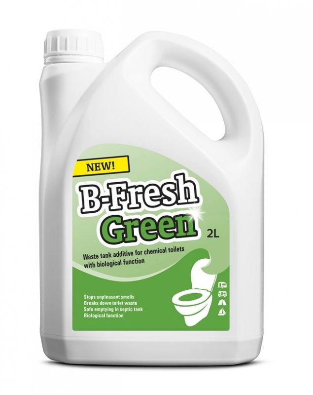 Жидкость для биотуалета THETFORD B-Fresh Green, нижний бак, 2 л