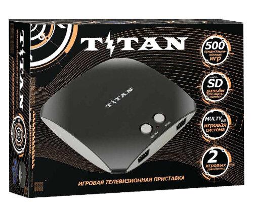 Игровая приставка SEGA Magistr Titan 3 черный (500 игр)