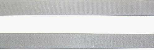 "Резинка эластичная для бретелей ""Под бархат"", цвет: белый, 9 мм x 50 м, арт. 46-06101/09"