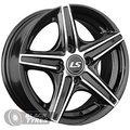 Диск колесный LS Wheels 372 6.5x15/4x100 D73.1 ET38 BKF - фото 1