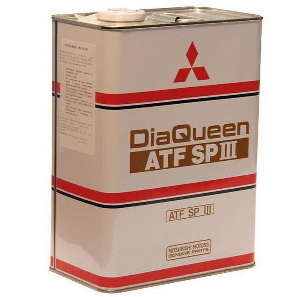 Масло трансмиссионное MITSUBISHI АКПП DiaQeen SP III 4L