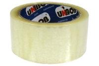Скотч упаковочный (48мм*132м) прозрачный (36шт/уп) UNIBOB 600