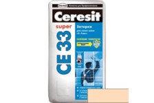 Затирка CERESIT CE33 персик 2кг