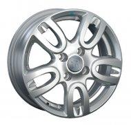 Диски Replica GM44 5,5x14 4x100 D56.6 ET45 цвет S (серебро) - фото 1