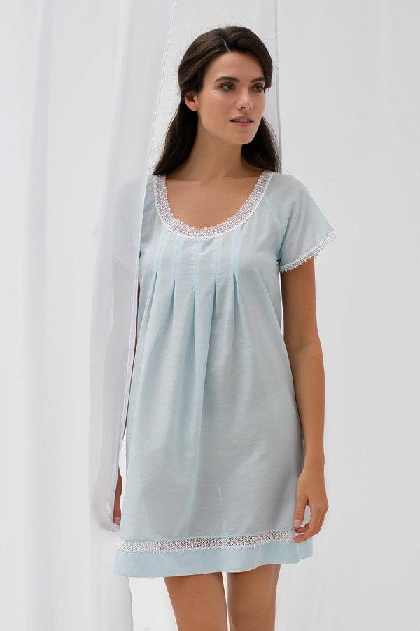 Сорочка короткая с шелком Laete 62024