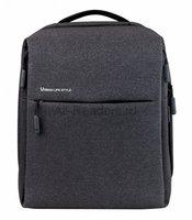Рюкзак Xiaomi Minimalist Urban Backpack (Темно-Серый)