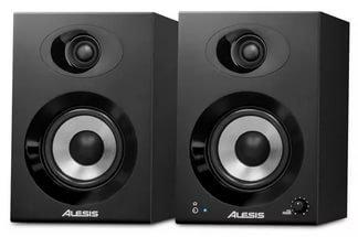 ALESIS ELEVATE 4 активные мониторы 50Вт(пара), 4` низкочистотный динамик, 1` tweeter, аудио, сетевой и комутационный кабели в ко
