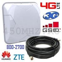 Антенна мультистандартная универсальная направленная 3G / 4G LTE / GSM (800-2700 МГц), 9-14 дБ