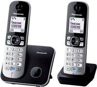 Радиотелефон DECT Panasonic KX-TG6812RUB черный