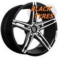 Диск колесный Lexani R-Three 8.5x19/5x112 D74.1 ET25 Black machined - фото 1