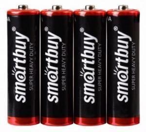 Элемент питания (батарейка) Smartbuy R6/AA 316 1.5V (блистер 4шт.) SBBZ-2A04S