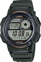 Японские наручные часы Casio Collection AE-1000W-3A с хронографом