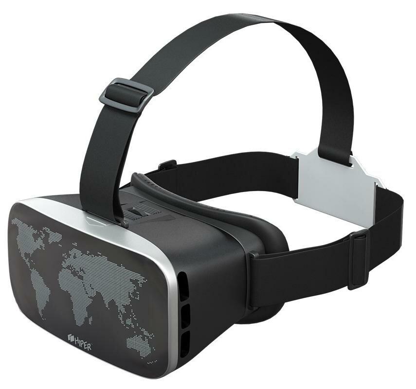 Очки виртуальной реальности HIPER VRW (Black)