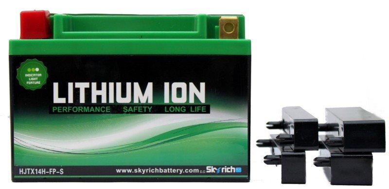 Аккумуляторы Аккумулятор SKYRICH HJTX14H-FP(YTX14-BS)