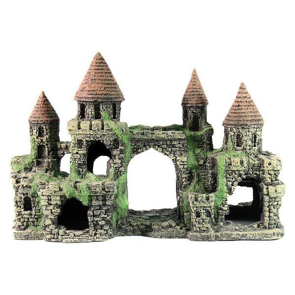Керамика для оформления аквариума 103 Грот Декси - Замок 31x11x21 см
