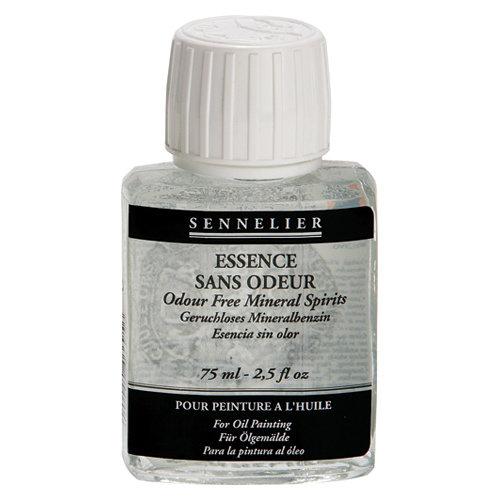 Разбавители и очистители Разбавитель уайт-спирит без запаха SENNELIER для масла и лаков, 75мл