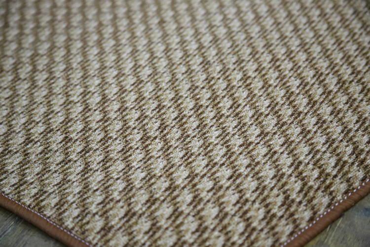 Витебские ковры Ковер-палас меланж светло-коричневый 4x6 м.