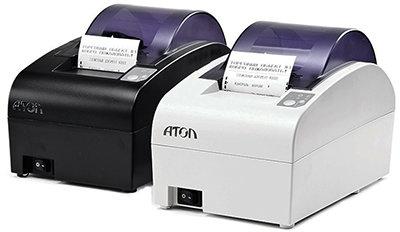 Принтер документов FPrint-55 для ЕНВД, USB, RS-232, чёрный