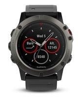 Спортивные часы Умные часы и браслеты Garmin Fenix 5x Sapphire серый - фото 1