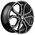 NZ Wheels F-15 6x15 4x100 ET 36 Dia 60.1 BKF - фото 1