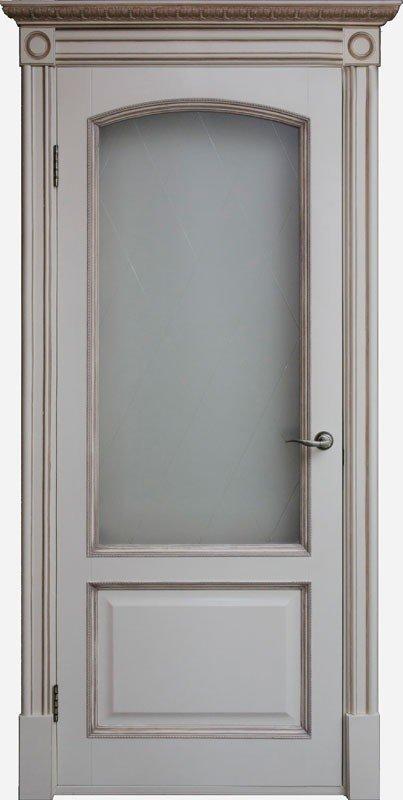 Межкомнатные двери Дверной Лидер Дверной Лидер Верона Деканте ваниль ПО