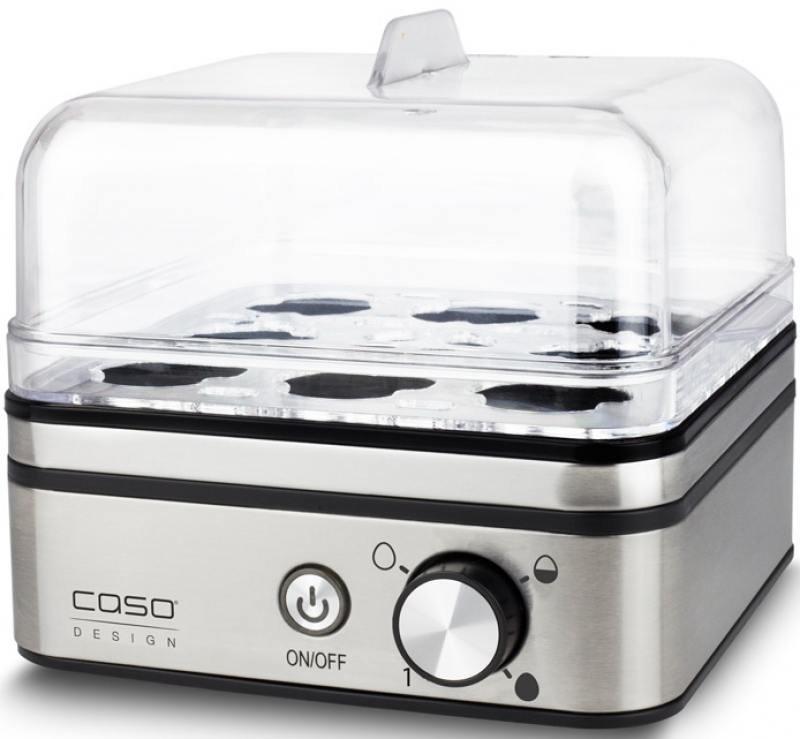 Яйцеварка CASO E 9 400 Вт серебристый