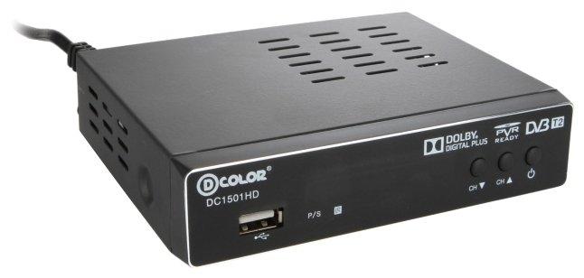 Цифровой телевизионный ресивер D-Color DC1501HD