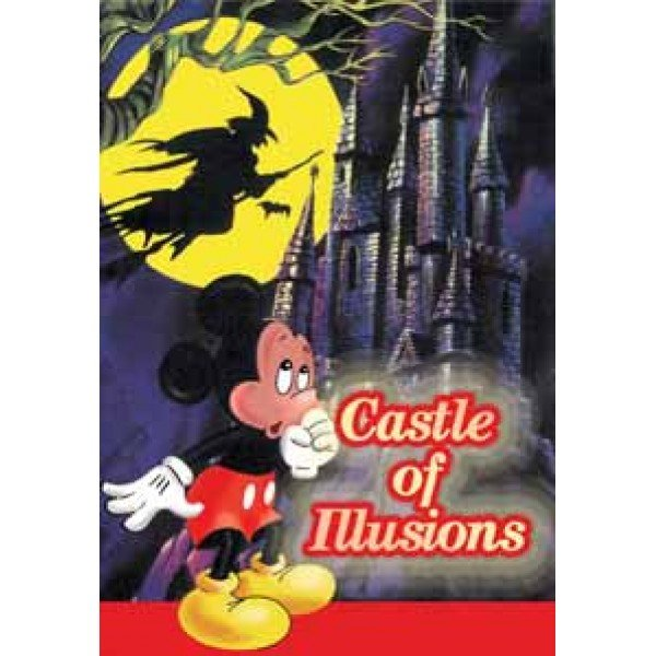 Castle of Illusion Картридж для Sega