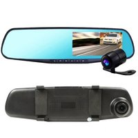 Видеорегистратор зеркало с камерой заднего вида DVR Full HD