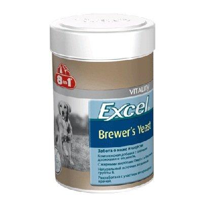 """Витамины для собак и кошек """"8in1"""" с пивными дрожжами, 260 шт. 108603"""
