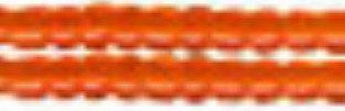 "Бисер ""Zlatka"", цвет: №0009B оранжевый, арт. GR 11/0"