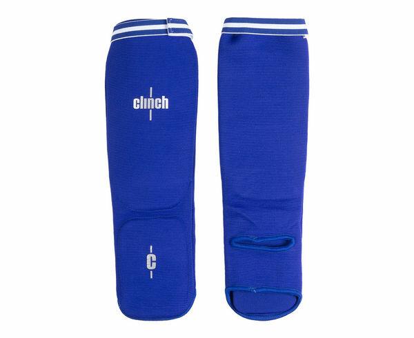 Защита голени и стопы Clinch Shin Instep Protector синяя Clinch Gear XS