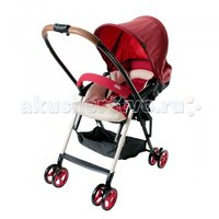 Прогулочная коляска Combi Mechacal Handy DC Red