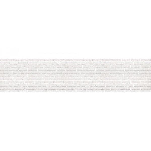 Кухонный фартук МДФ 0,6Х2,44М, кирпич белый