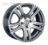 LS Wheels 318 6,5 x 15 ET32 d58,6 PCD4*98 GMF - фото 1