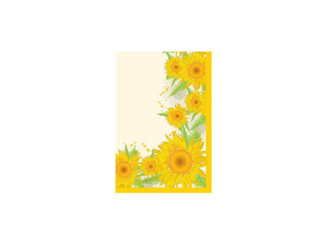 скатерть duni sun flower 84х84 см