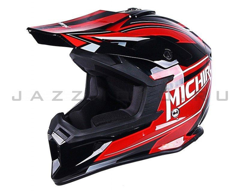 Шлем кросс MICHIRU МС 135 TTR Red