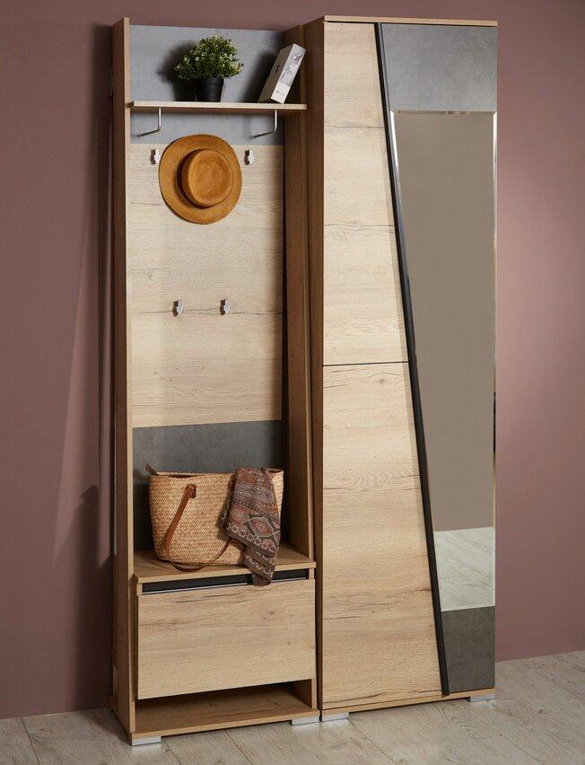 Комплект прихожей Стреза 120 см со шкафом