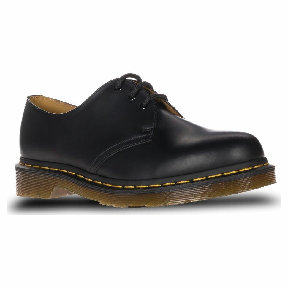 Ботинки Dr.Martens 1461 Smooth Hf 10085001 кожаные низкие классика черные 935687002e879
