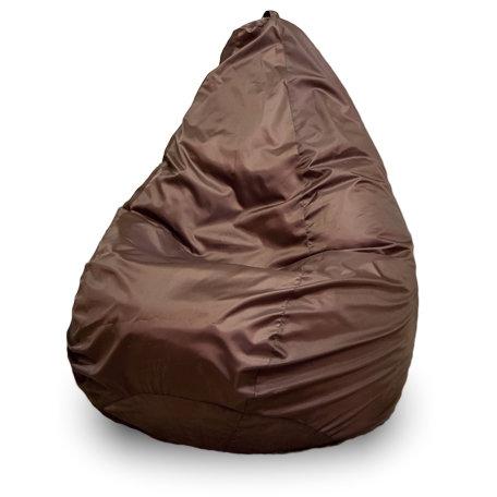 Кресло-мешок груша L, Оксфорд Коричневый