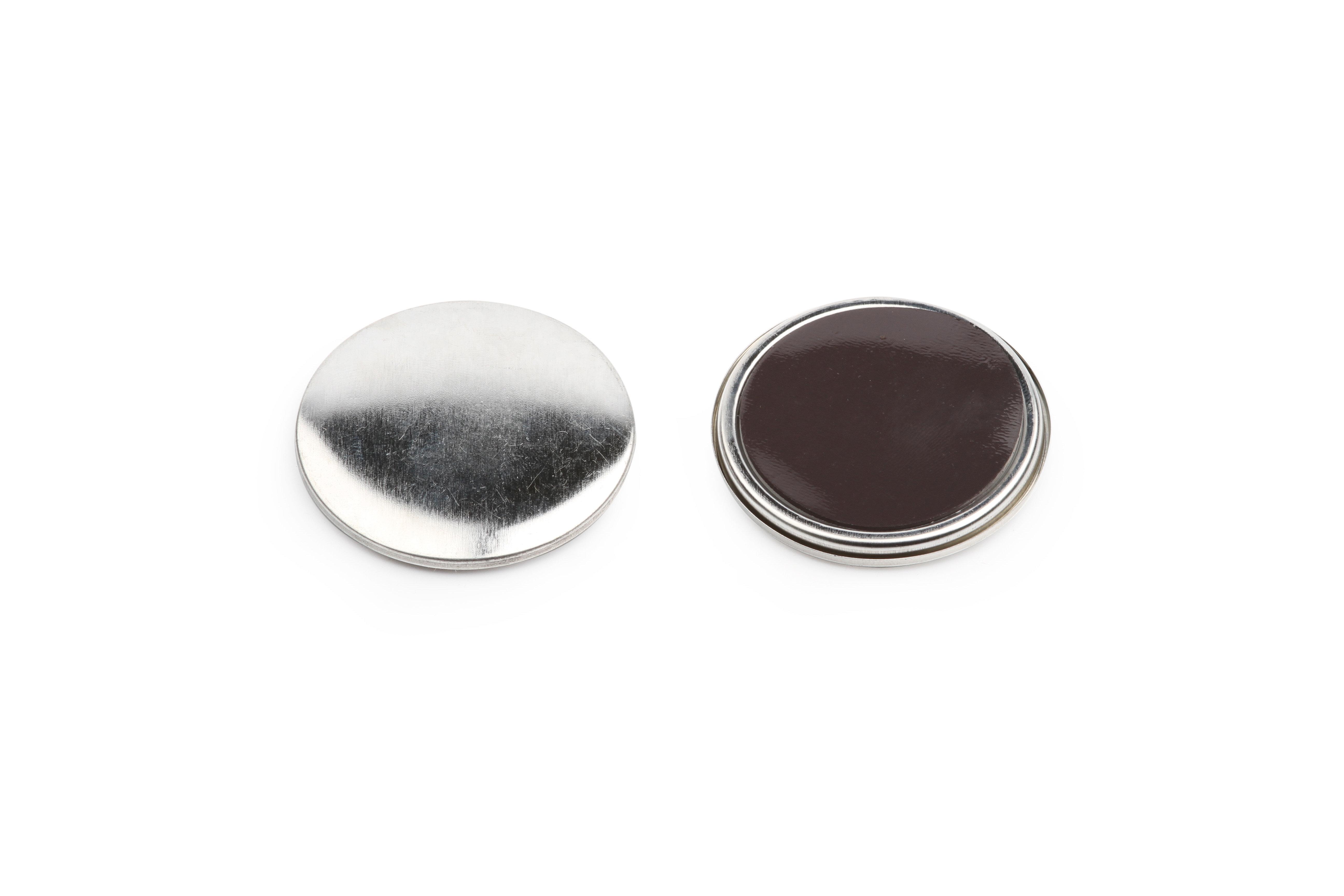 Магнит закатной виниловый круглый D50 мм, 200 шт