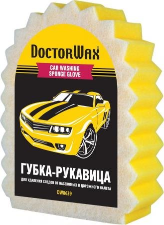 Губка-рукавица Doctor Wax DW 8639