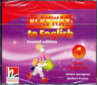 "Gunter Gerngross and Herbert Puchta ""Playway to English (Second Edition) 4 Class Audio CDs (Лицензия)"""