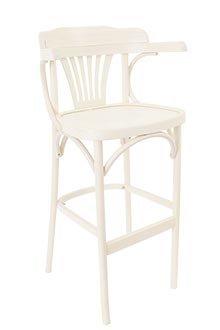 Выбеленное барное кресло арт. 3026