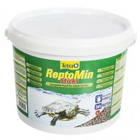 Корм основной для водных черепах Tetra ReptoMin Sticks 10л