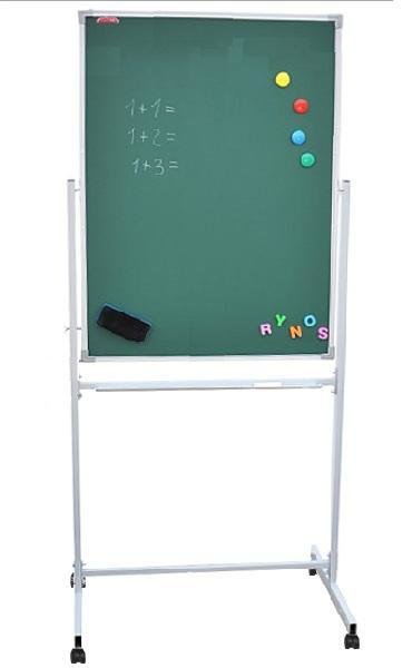 Доска поворотная передвижная 75*100 см boardSYS зеленая вертикальная