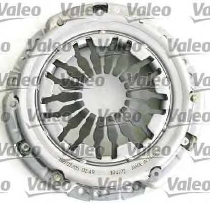 Комплект сцепления без выжимного renault: clio iii 05-, modus 04- Valeo арт. 826554