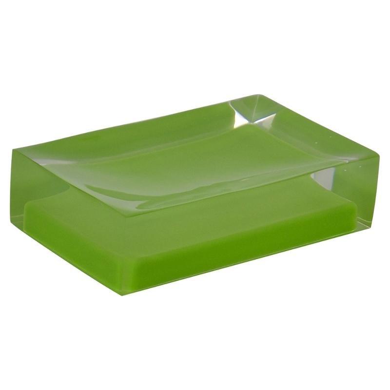 Мыльница Ridder Colours 22280305, зеленая