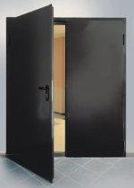 Дверь противопожарная ДПМ-02/30 (EI 30) двупольная, левая (равнопольная)