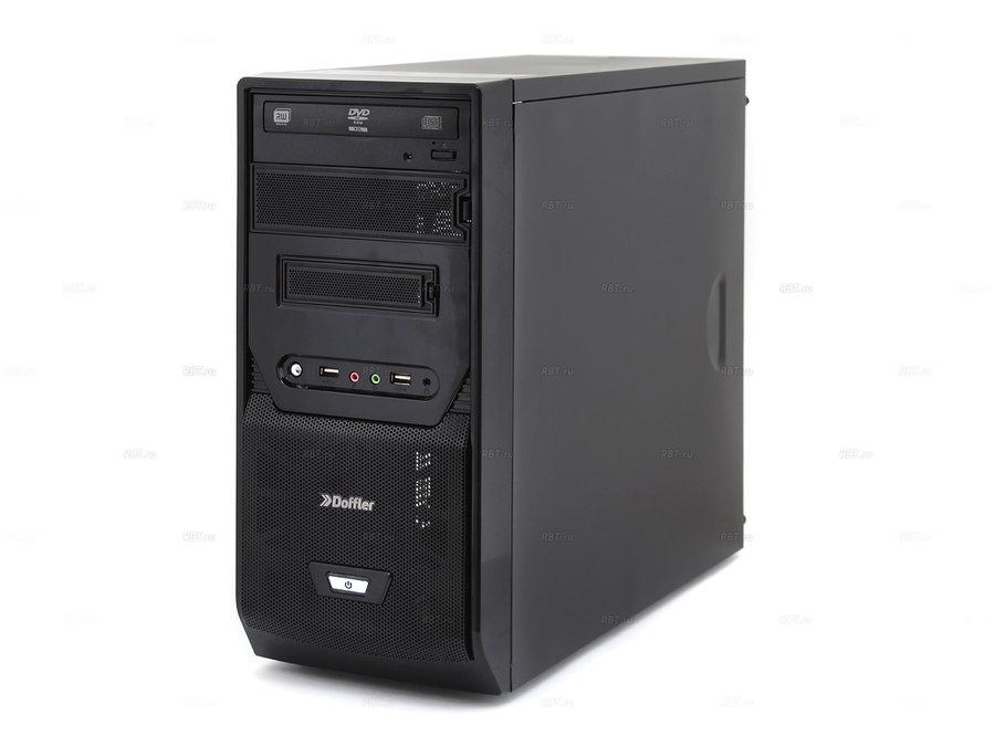 Системный блок Doffler a008 multimedia amd a4 6300 x2 3.7gh/8gb/500gb/dvdrw/win7hb
